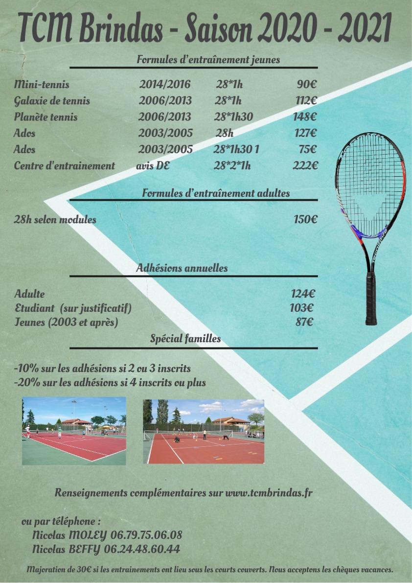 Tennis club municipal de Brindas